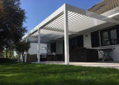 Instalacion de Pergola Bioclimatica Terraza 3