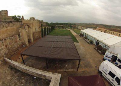 Instalacion de Pergola Bioclimatica Terraza Hosteleria 2