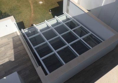 Instalacion de Techo Movil Terraza 1