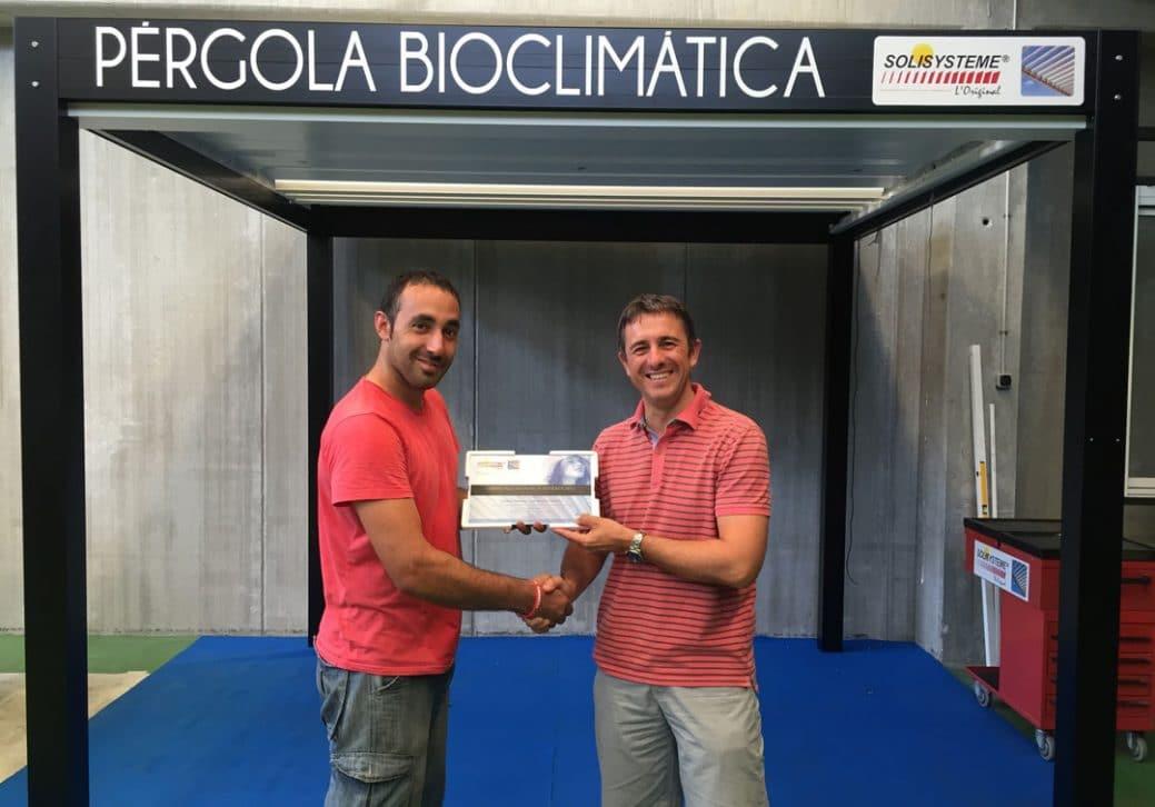 Sistemas Bioclimáticos acuerdo como instalador homologado para Solisysteme